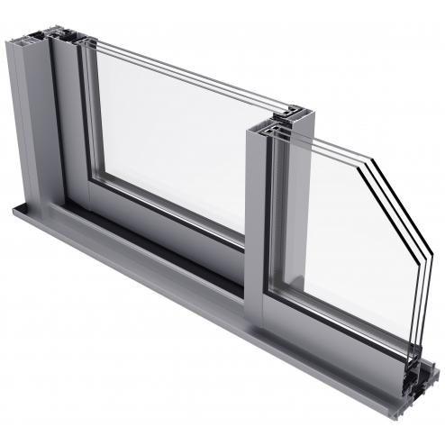 serramenti alluminio scorrevole elevato isolamento 67cl