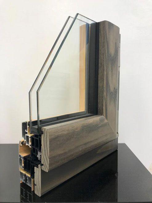 serramenti alluminio legno Milano termalmix